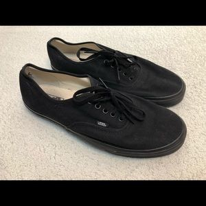 Vans Men's Size 13 Black
